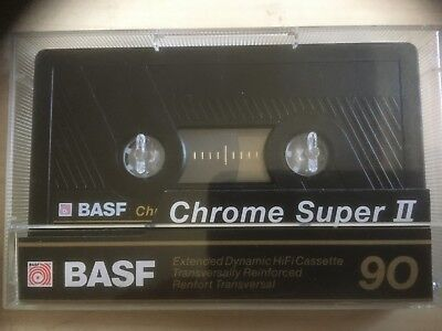 Basf Chrome Super Ii 90 Used Audio Cassette In Perfect Shape 9 Pieces