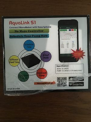Aqualink S1 Wifi Wave Maker Controller for Jebao RW/WP/DC/FS, iOS and Android