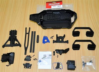 Traxxas Slash 4x4 LCG Conversion Kit TRA7421 New Treated Plastic Black Chassis