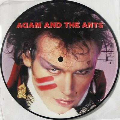 """Adam And The Ants - Antrap / Friends / Picture Disc Single 7"""" UK 1981 unplayed"""