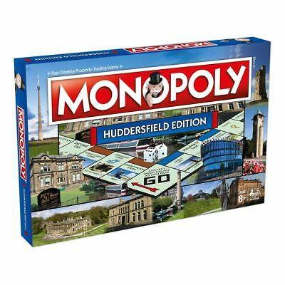 Huddersfield Town Monopoly Board Game - New 2018 Release - Winning Moves