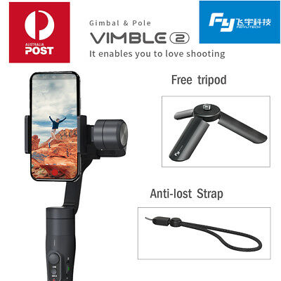 Feiyu Vimble 2 Extendable Handheld 3-Axis Gimbal Stabilizer for iPhone XS MAS 8