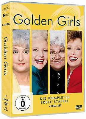 GOLDEN GIRLS COMPLETE SERIES 1 DVD New 1st First Season One UK Compatible R2