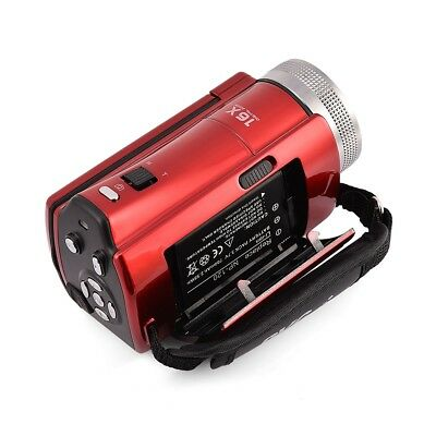 16MP camescope numerique mini DV Appareil photo 2.7'' TFT LCE Screen Red