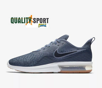 sports shoes a3fc1 75718 ... black nr 31 new zealand nike air max sequent 4 blu scarpe shoes uomo  sportive sneakers ao4485 400 2018 ...