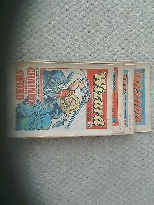 10 wizard comics 1976 /1978