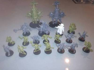 Wh40k Deathguard Armee Chaos Space Marines
