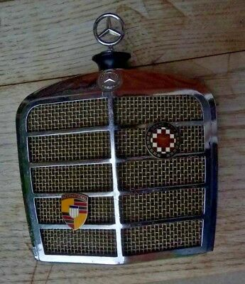 Rare vintage Mercedes Benz grille Audition radio - DISPLAY ONLY