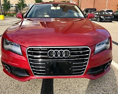2012 Audi A7  2012 Audi A7 Prestige fully loaded NO RESERVE perfect condition