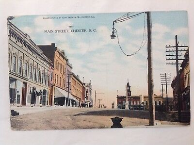 Main Street, Chester, SC *Request Combined Shipping BEFORE You Pay*