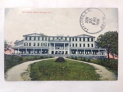 Main Hotel, Chick Springs, SC *Request Combined Shipping BEFORE You Pay*