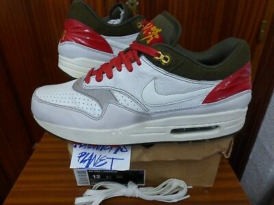 timeless design dcdef 679c6 2008 Ds Nike Air Max 1 Premium Year Of The Ox Us 12 Uk 11 Bew