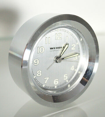 Alarm clock Wehrle Savoy metal grey 77056000