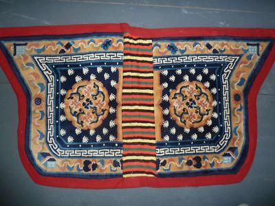 Chinese saddle cover for the Tibetan market