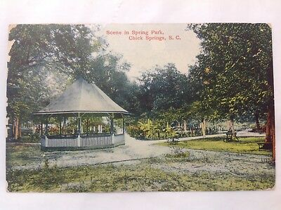 Scene In Spring Park, Chick Springs,SC*Request Combined Shipping BEFORE You Pay*