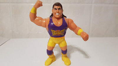 *WWF WCW WWE Hasbro Wrestling Action Figure Vintage KONA-CRUSH-Serie 7 Yellow*