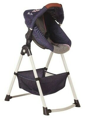 Silver Cross Simplicity 4 in 1 Dolls High Chair - Vintage Blue Fabric