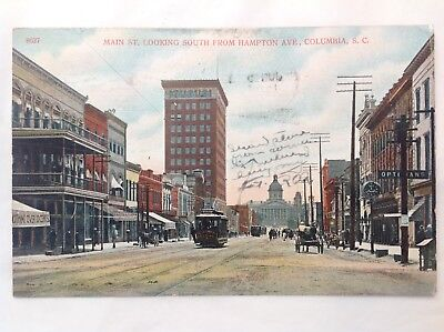 Main St. Looking South, Columbia, SC *Request Combined Shipping BEFORE You Pay*