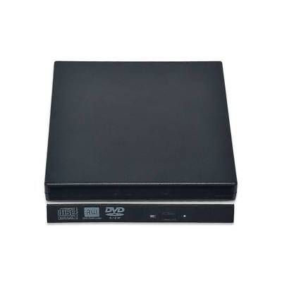 External USB 2.0 DVD Drive CD RW Writer Burner Reader Player Case For Laptop/PC