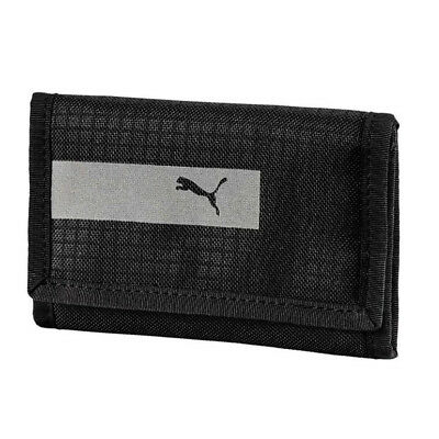 Puma Vibe Sports Zipped Wallet Money Purse Black