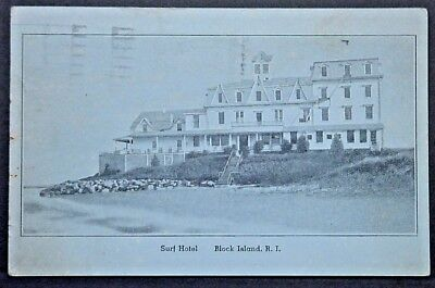 Block Island RI View of the Surf Hotel