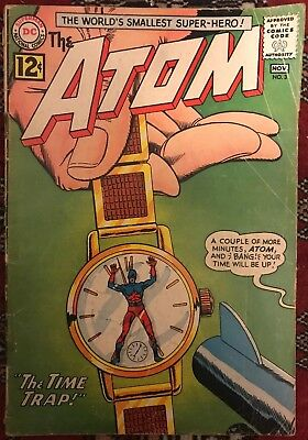 The Atom #3 - 'The Time Trap!' - 1962 - DC