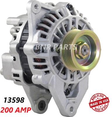 200 AMP 13598 ALTERNATOR MITSUBISHI 3000GT DODGE STEALTH High Output NEW 3.0L