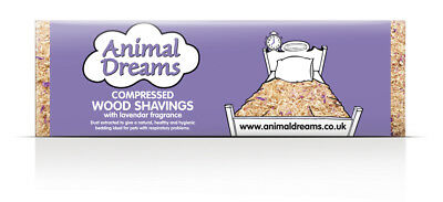 2 X Animal Dreams Compressed Shavings Lavender Mini DAMAGED PACKAGING