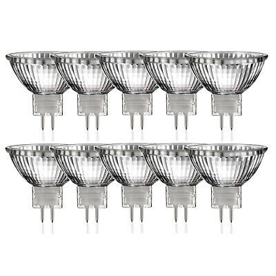 10x MR16 Halogen Reflektor Lampe GU5,3 50W dimmbar warmweiss Luminizer 3320