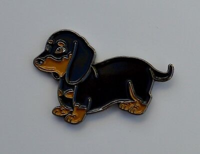 Dachshund sausage Dog Quality Enamel Pin Badge