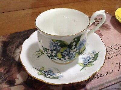 Royal Albert Lilly of the Valley cup and saucer