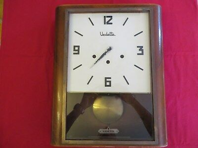 "Ancienne Horloge Vedette 5 Marteaux "" Made In France "" (45 x 37 cm) A Restaurer"