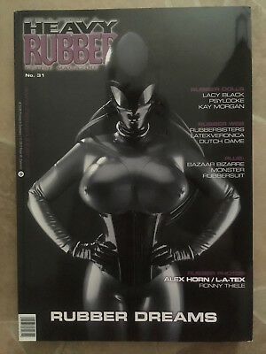 Heavy Rubber Magazin Heft Nr. 31 Fetisch Latex Erotik