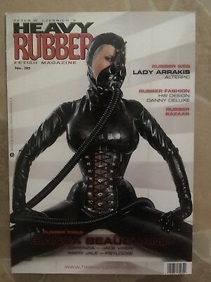 Heavy Rubber Magazin Heft Nr. 30 Fetisch Latex Erotik