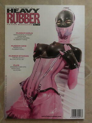 Heavy Rubber Magazin Heft Nr. 17 Fetisch Latex Erotik