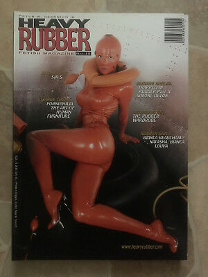 Heavy Rubber Magazin Heft Nr. 10 Fetisch Latex Erotik