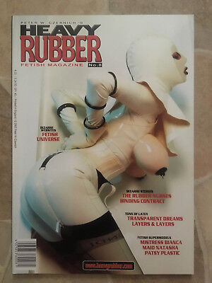 Heavy Rubber Magazin Heft Nr. 8 Fetisch Latex Erotik