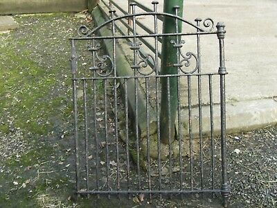 Cast iron garden gate