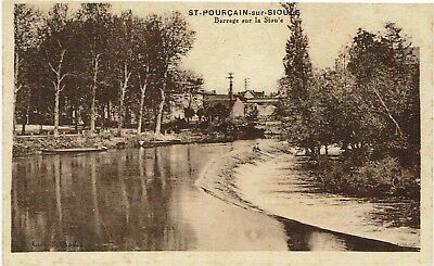 CPA - France - (03) Allier - Saint-Pourçain-sur-Sioule - Barrage sur la Sioule