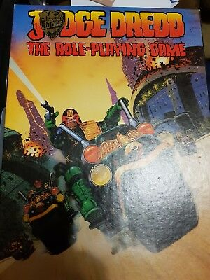 Complete Uncut Judge Dredd The Role-Playing Game 1985 Games Workshop 2000 AD RPG