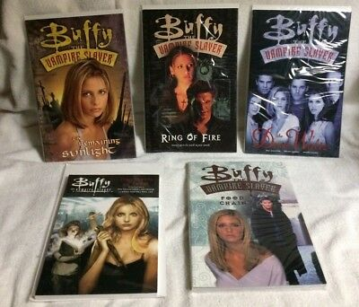 Lot of 5 BUFFY THE VAMPIRE SLAYER graphic novels Dark Horse bagged carded