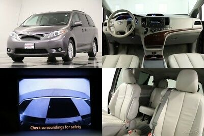 2014 Toyota Sienna XLE Heated Leather Sunroof  Camera Predawn Gray Mi 2014 XLE Heated Leather Sunroof  Camera Predawn Gray Mi Used 3.5L V6 24V FWD