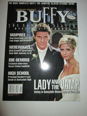 Buffy the Vampire Slayer 1999 Yearbook by Cinescape.
