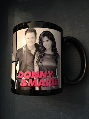 Donny and Marie Osmond  Coffee Cup Mug From The Las Vegas Show Flamingo Casino
