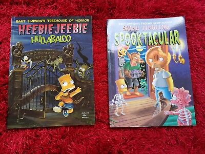 The Simpsons Book Collection Halloween books