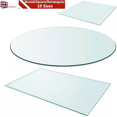 Tempered Gl Table Top Dining Coffee Protector Multi Size Shape Uk