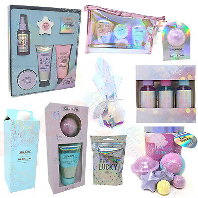 Holographic Beauty Pamper Gift Set - Bath / Shower Christmas Gift - Bath Bombs