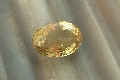 OVAL Goldberyll 4,90 ct