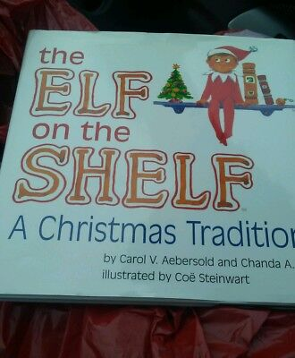 "NEW! ""The Elf on the Shelf A Christmas Tradition"" Hardback BOOK ONLY Boy Girl"