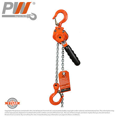 ProWinch Mini Ultra Light Lever Chain Hoist 1.5 ton